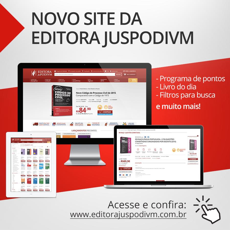 Migração: E-commerce Editora Juspodivm