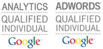Ceritificados Google AdWords e Shopping e Google Analytics